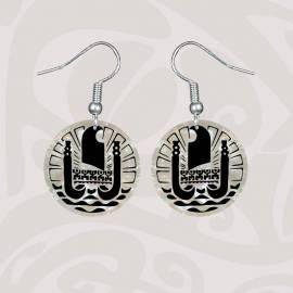 Boucles d'oreilles  TAHITI